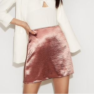 NWT Express High-Waisted Mini Skirt